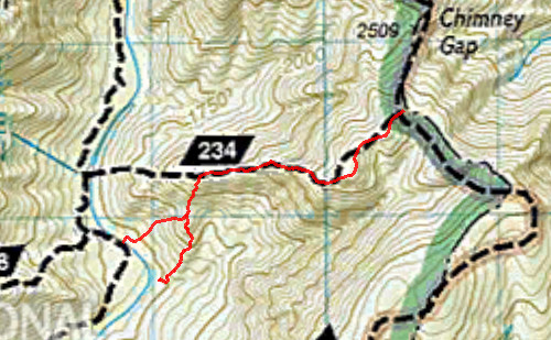 National Geographic Linville Gorge / Mount Mitchell - LGMAPS
