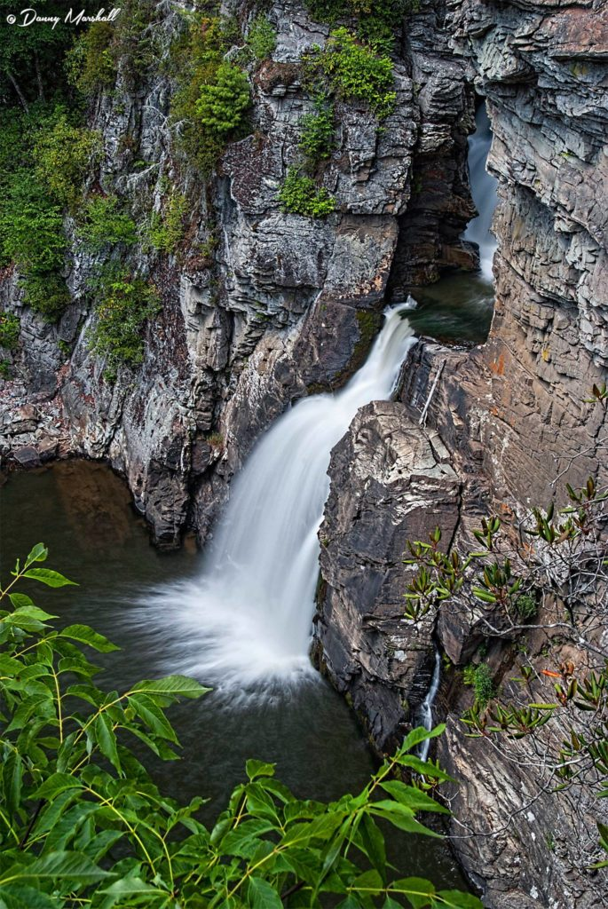 Linville Falls. (Photo: Danny Marshall)